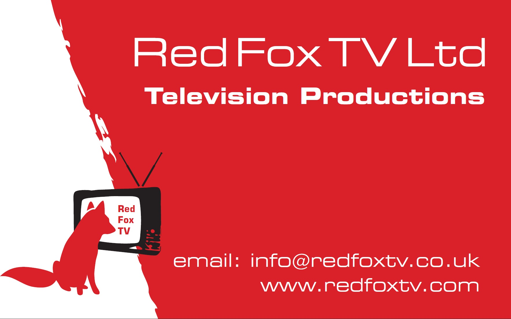 Logo for red fox tv